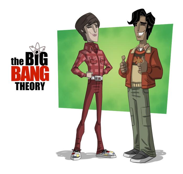 the_big_bang_theory_2_by_otisframpton-d4io2ml (700x665, 98Kb)
