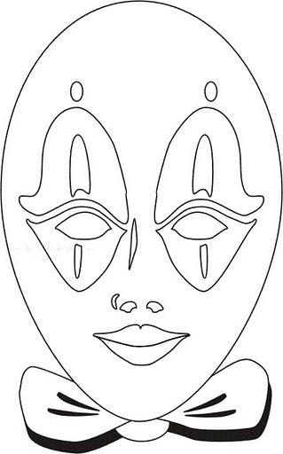 Карнавальные маски своими руками шаблоны фото 251