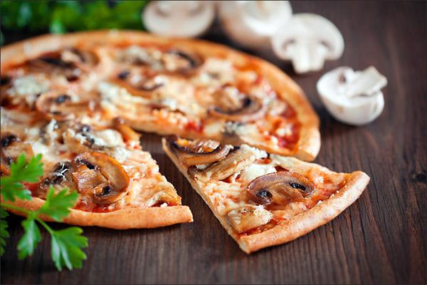 Грибы пицца с фото