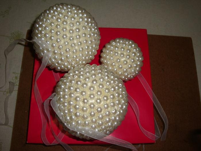 las bolas de Navidad y preciosos árboles de Navidad con perlas y cuentas (21) (700x525, 247KB)