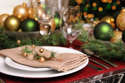 las bolas de Navidad y preciosos árboles de Navidad con perlas y cuentas (25) (500x332, 101Kb)