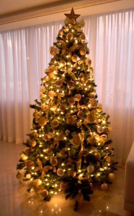 las bolas de Navidad y preciosos árboles de Navidad con perlas y cuentas (27) (435x700, 236KB)