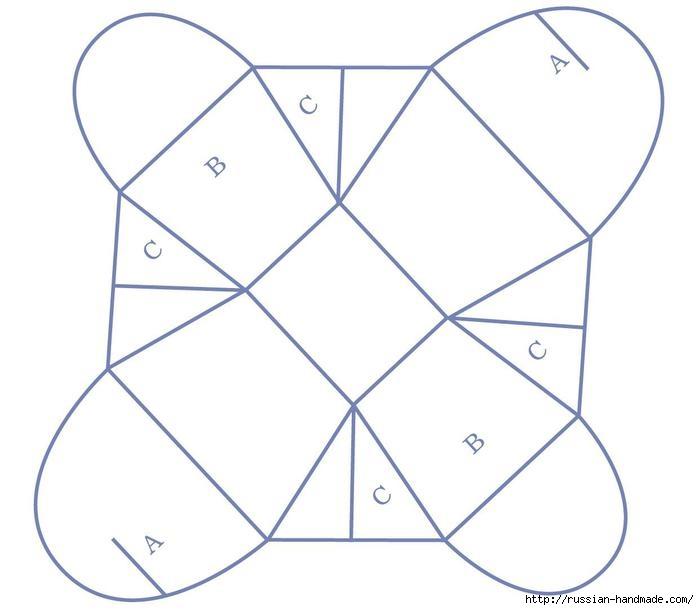 коробочка для подарка своими руками (1) (699x610, 106Kb)