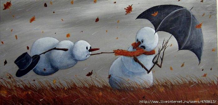 снеговик 3 robert-dowling_014 (700x336, 219Kb)