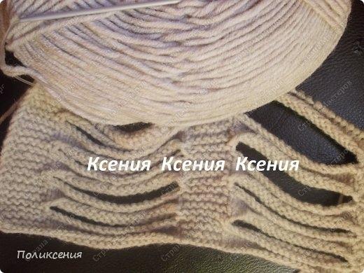шарфик спицами от Поликсении! Мастер-класс (3) (520x390, 130Kb)