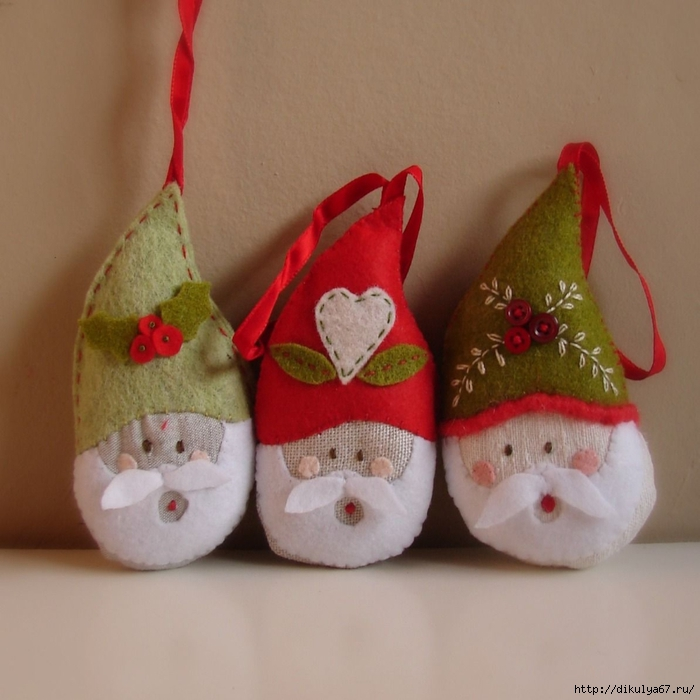 christmas ornaments santas 1 (700x700, 251Kb)