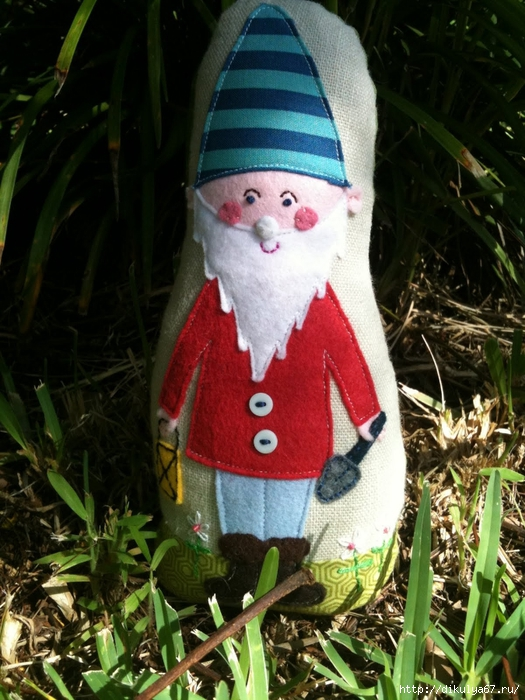 Gnomes in My Garden 2 (525x700, 317Kb)