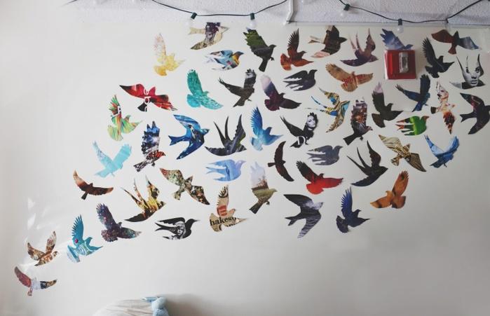 Шаблоны бабочек из бумаги своими руками
