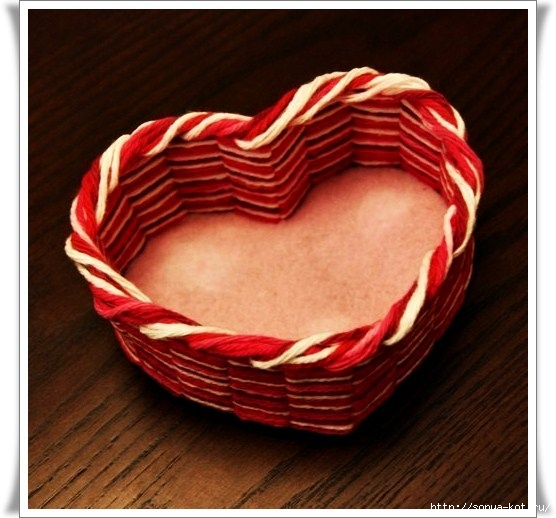 Шкатулка для ниток своими руками из картона