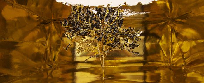 бумажные деревья художник Юкен Теруя 3 (700x285, 349Kb)