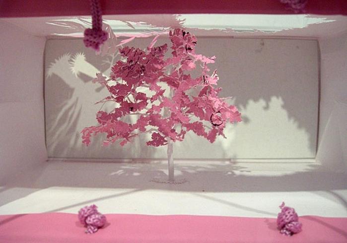 бумажные деревья художник Юкен Теруя 5 (700x490, 210Kb)