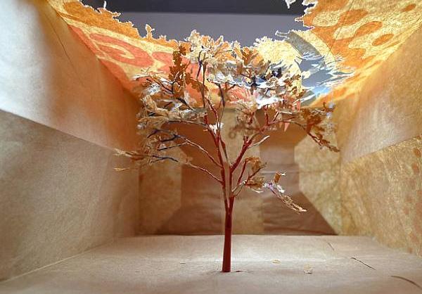 бумажные деревья художник Юкен Теруя 11 (600x418, 171Kb)
