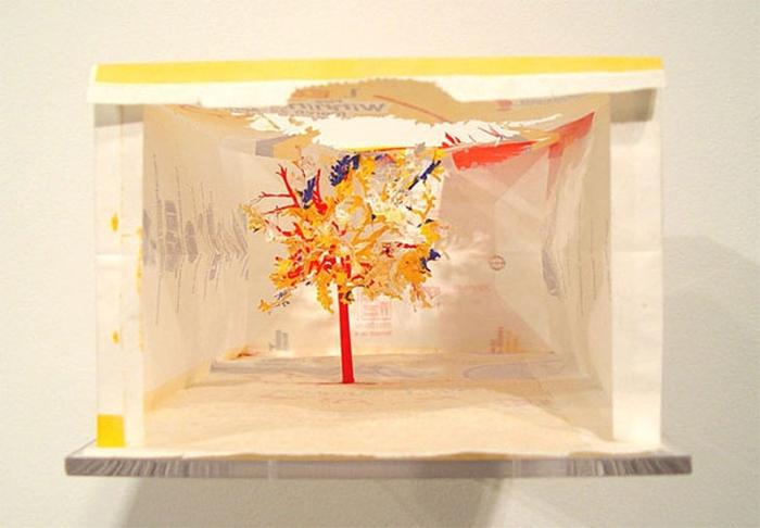 бумажные деревья художник Юкен Теруя 14 (700x486, 188Kb)