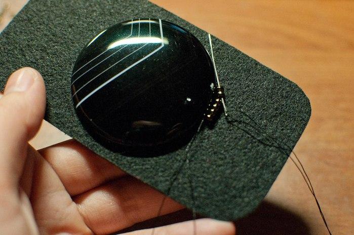 чехол с бисером для мобильного телефона своими руками. Мастер класс