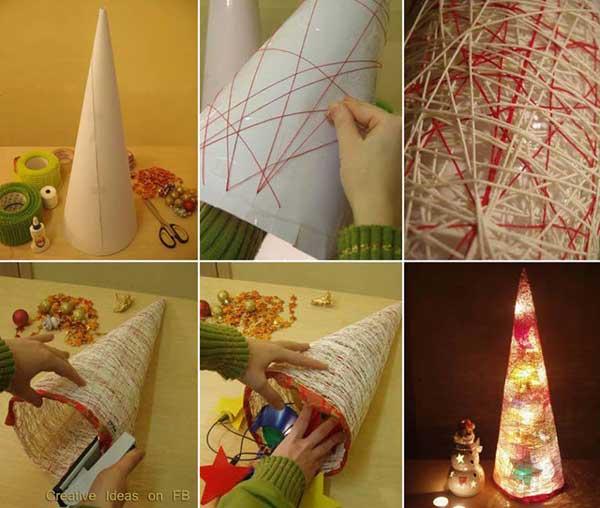 Идеи новогодней игрушки своими руками