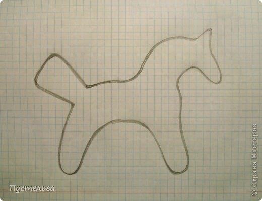 Плетение из газет. Лошадка и другие игрушки для елочки (16) (520x399, 86Kb)