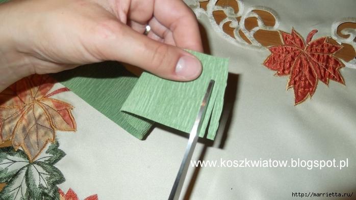 Шишки из бумаги мастер класс пошагово #12