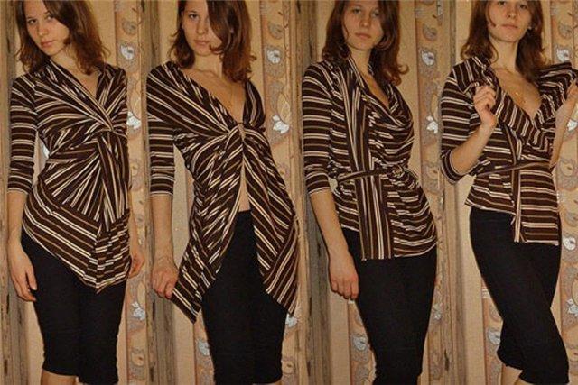 Блузка Из Двух Прямоугольников