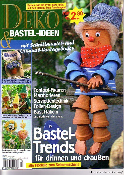 Deko und Bastel-Ideen Bastel-Trends für Cover (494x700, 436Kb)