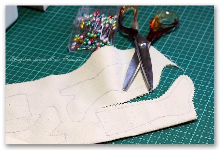 Botas de Navidad estilo shabby chic (3) (700x478, 227Kb)