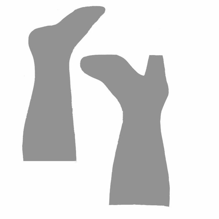Botas de Navidad estilo shabby chic (10) (700x700, 30Kb)