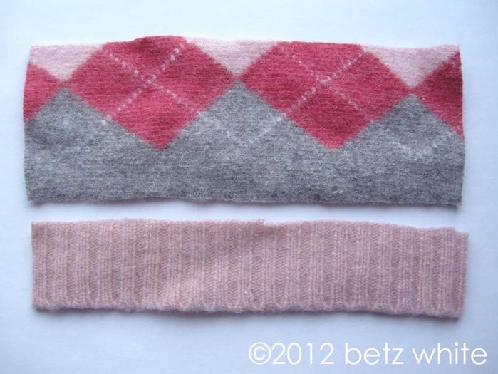 Шапочки для пингвинов из рукавов старого свитера (1) (700x525, 234Kb)