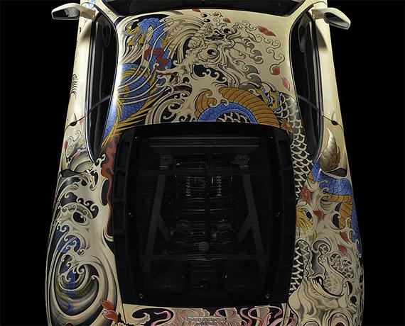 татуированный феррари фото 4 (570x460, 181Kb)