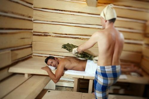 Как надо париться в бане