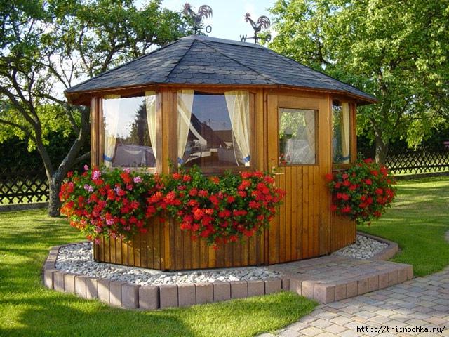 Архитектурное бюро «Зодчие»и красивые беседки для сада!