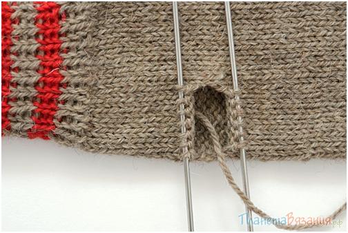 Видео уроки вязание варежек