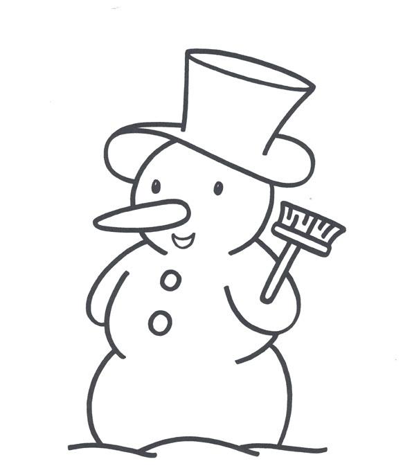 снеговик (595x673, 71Kb)