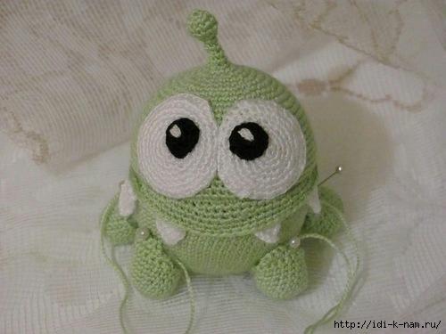 "rope"" - лягушонка Ом Нома"