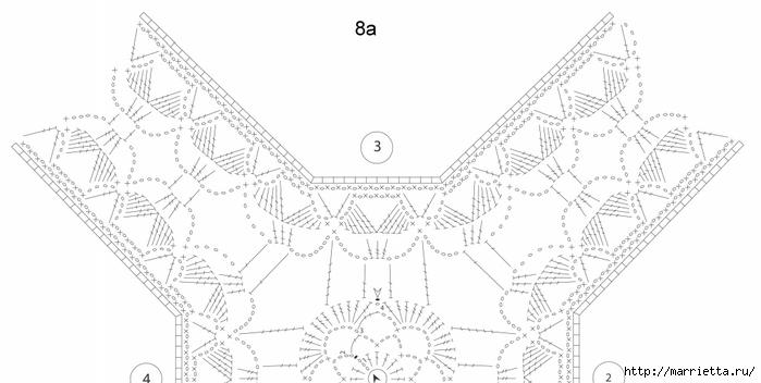 Crochet.  Mantel y recortar los bordes (2) (700x352, 115KB)