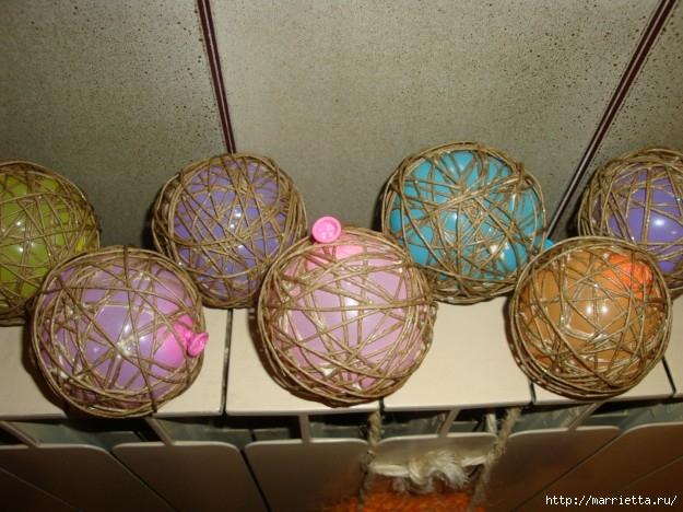 елочные шары из ниток (34) (625x468, 214Kb)