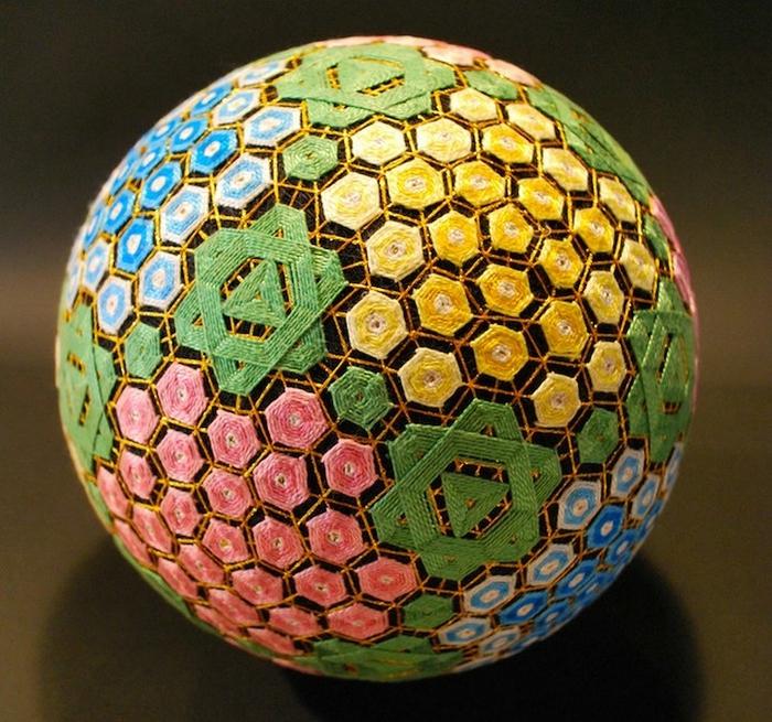 японские шары темари фото 6 (700x655, 382Kb)