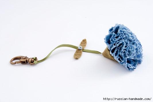 Цветы из ткани. РОЗЫ и ГВОЗДИКИ (10) (533x355, 47Kb)