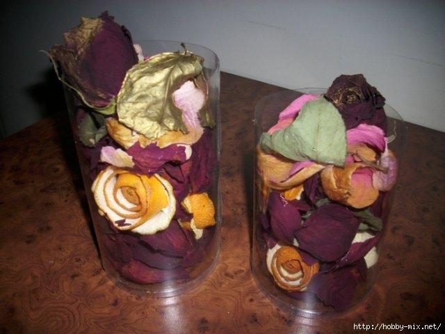 Сухие лепестки роз поделки своими руками 81