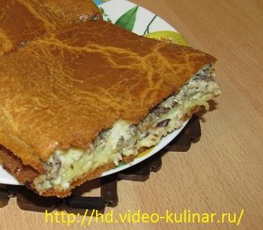 Рыбный пирог из консервов (381x333, 110Kb)