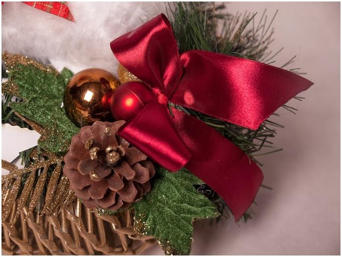 Рождественский СЕВЕРНЫЙ ОЛЕНЬ из папье маше. Мастер-класс (18) (700x526, 266Kb)