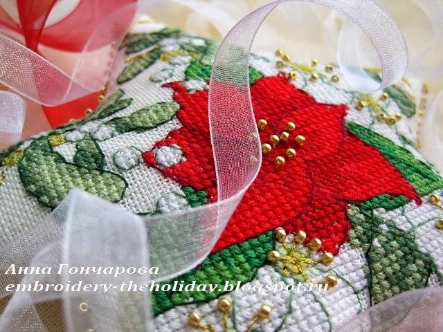 Рождественская звезда с вышивкой. Фото мастер-класс по пошиву (11) (640x480, 249Kb)