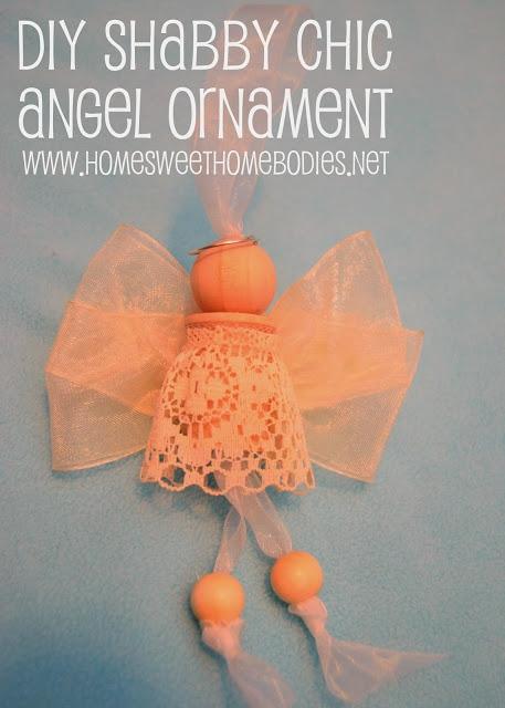 Нежные ангелы из деревянных катушек и бусин (4) (457x640, 167Kb)