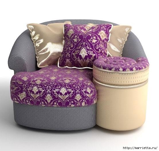 Расход ткани для пошива чехлов и замены обивки мебели (12) (555x528, 168Kb)
