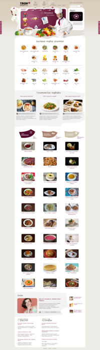 Подбор рецептов по ингредиентам  составление меню  распечатка чего купить для приготовления   Твои рецепты . ru (199x700, 108Kb)