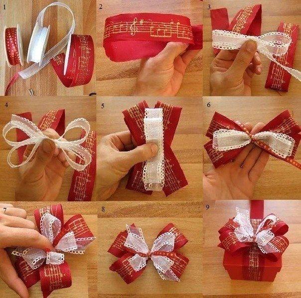 Бантик для упаковки подарков