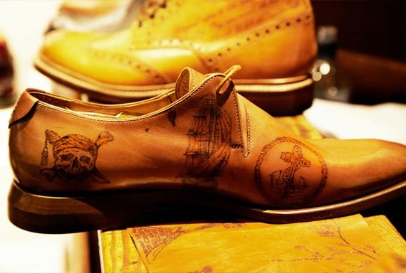 татуированная обувь Oliver Sweeney (570x384, 131Kb)