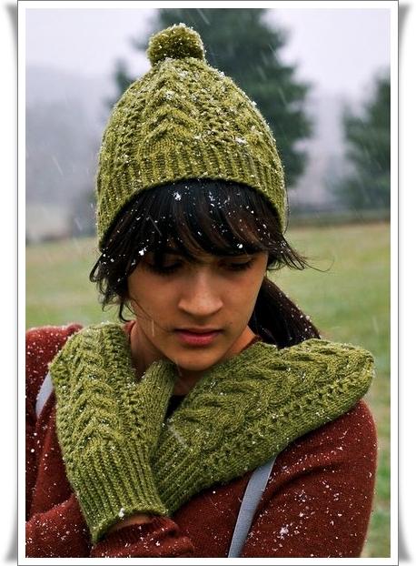 схемы для вязания шапки