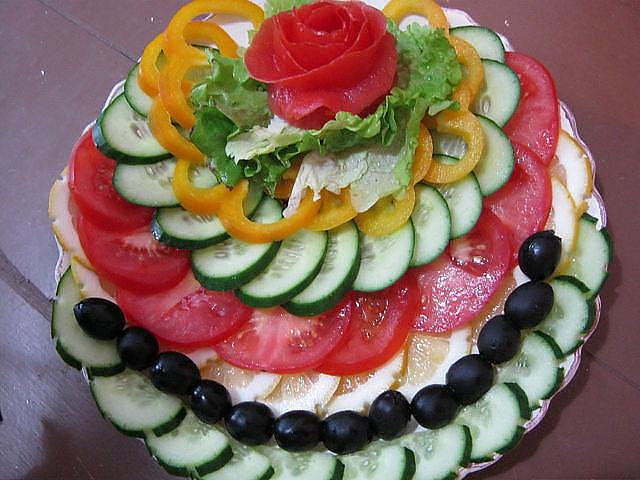 Фото украшение блюд своими руками