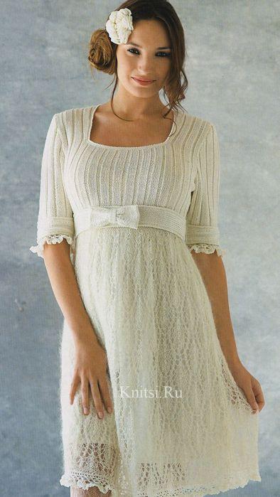 платье с ажур юбкой (394x700, 46Kb)
