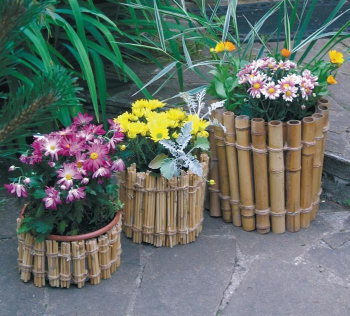 Цветы для вазонов оформление