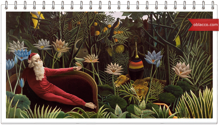 Santa Classics - серия коллажей Эда Вилера Ed Wheeler/3518263_ (700x400, 577Kb)